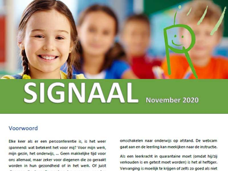 Radarschol signaal november 2020